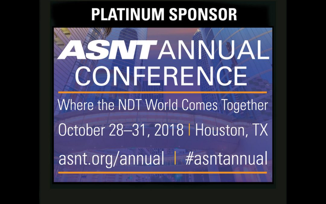 2018 ASNT Platinum Sponsors