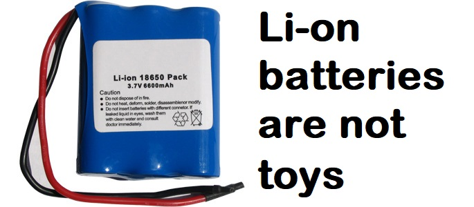 Why do we use Li-ion batteries and what are the risks